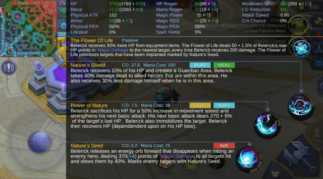 skill Belerick mobile legends