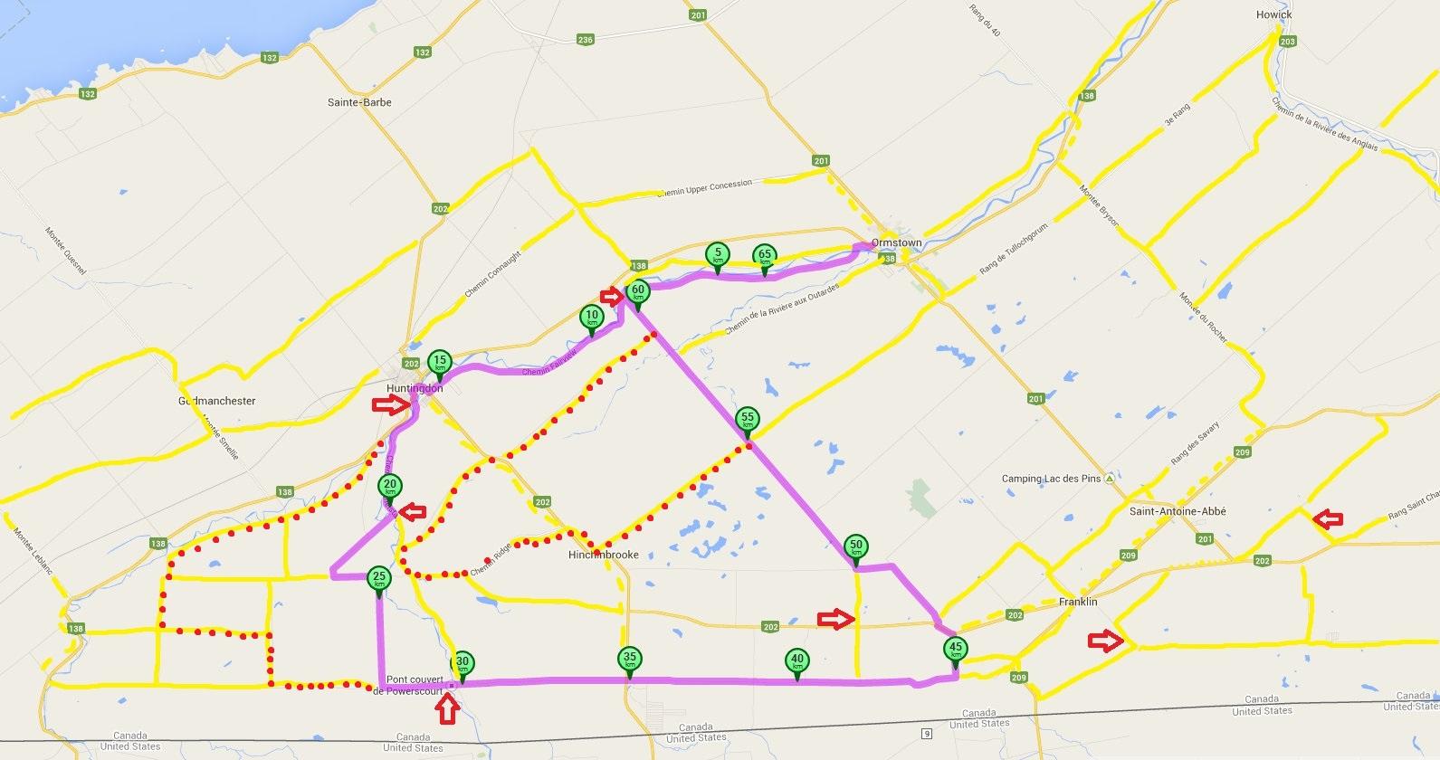 Cycle Fun Montreal My Artisanal Bike Ride Heat Map - Map my bike ride