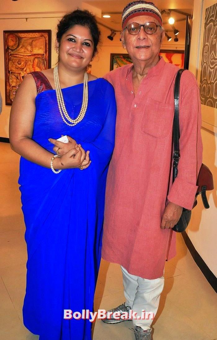 Seema Chaudhary, Milon Mukherjee, Tia Bajpai, Richa Sony Pics from Exhibition