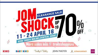 Jom Shock Clearance Sale Kiko baby kiko