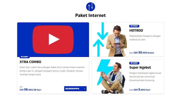 paket internet Xl mei 2017