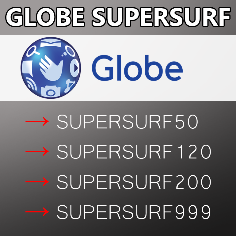 Globe SuperSurf (Unlimited Internet Data Surfing)