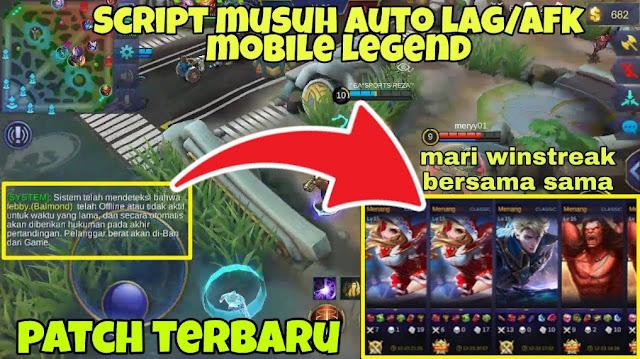 Script Auto Lag Mobile Legends Patch Badang