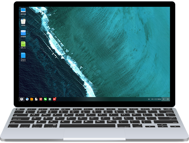 Phoenix OS for x86 - Phoenix OS