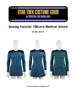 TNG medical smock (Dr. Pulaski uniform) sewing tutorial
