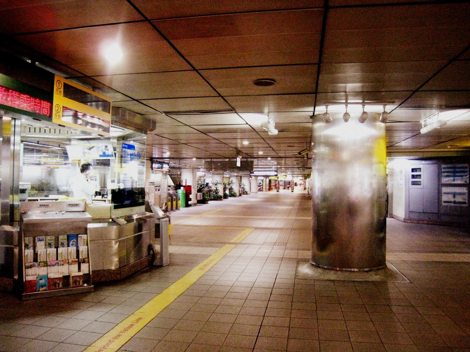 悠遊臺灣-捷運中山站