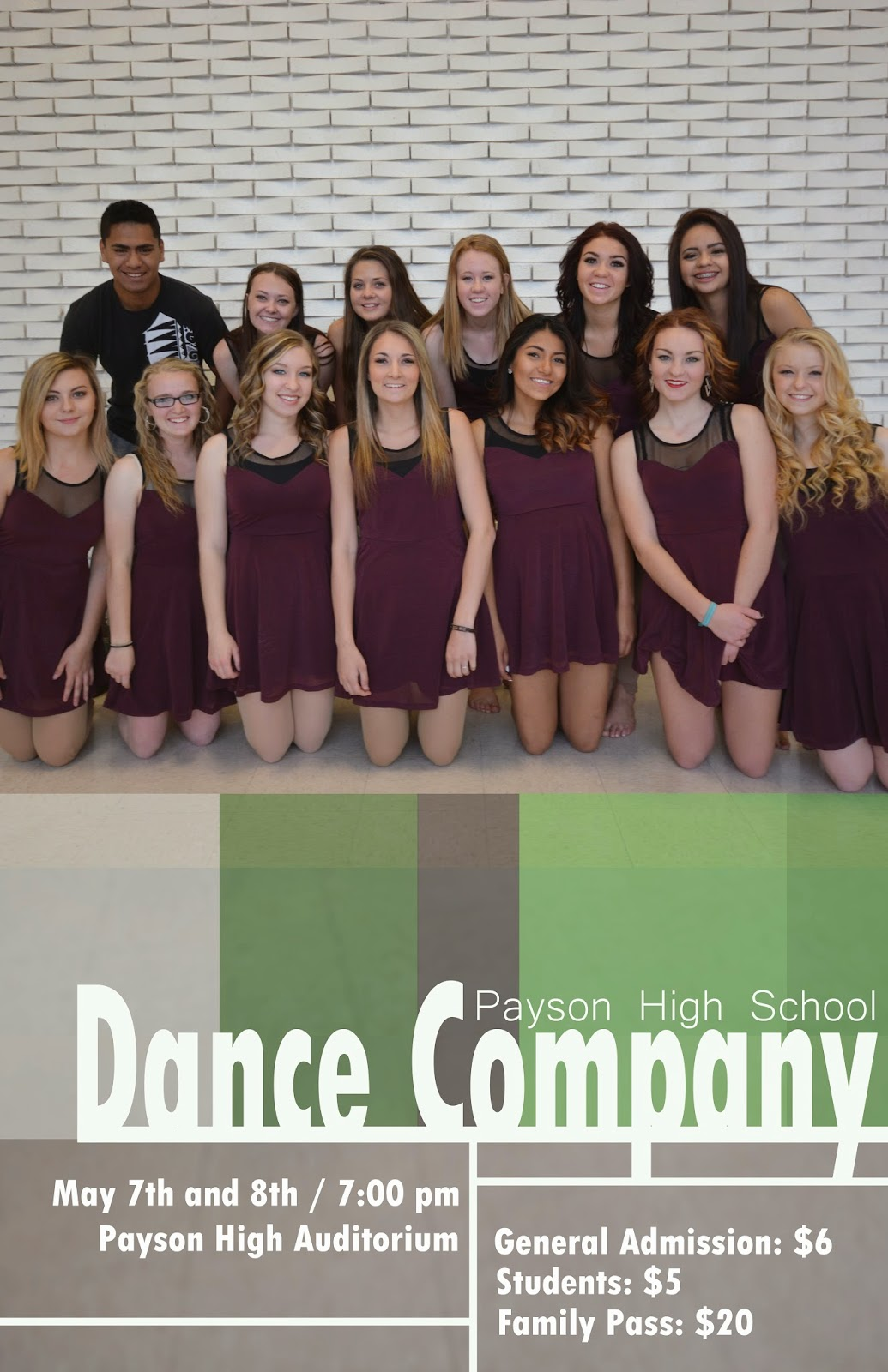Payson High School Dance Company Spring Concert May 7 and 8