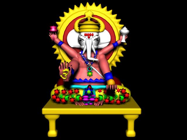 3d Lord Ganesha: Manash (Subhaditya Edusoft): Ganesha : Graphical Ancient
