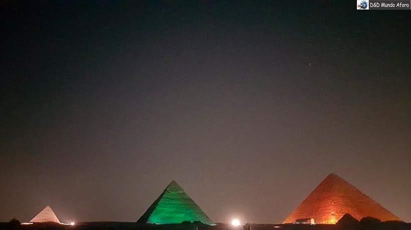 Show de Som e Luzes no complexo das Pirâmides de Gizé - Diário de Bordo: 2 dias no Cairo