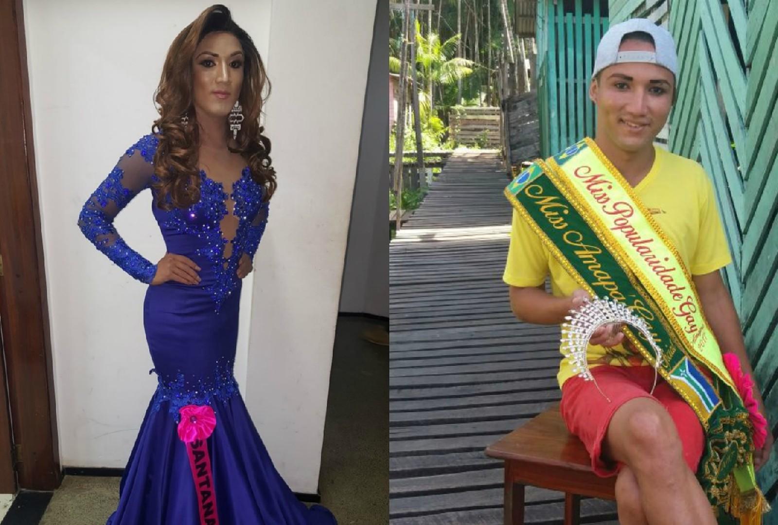 'Fiquei em choque', diz Miss Amapá Gay após ter coroa arrancada por concorrente
