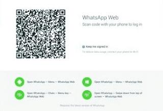 whatsapp login QR code