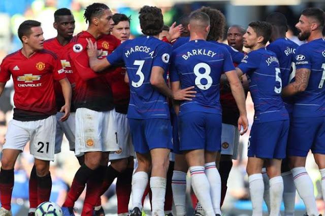 Prediksi Bola Manchester United vs Chelsea Liga Inggris