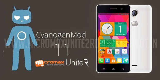 Cyanogenmod 11 ( CM11 ) with theme engine Rom For Micromax
