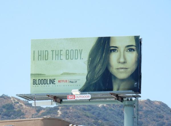 Bloodline season 2 I hid the body billboard