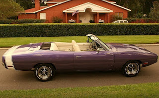 1970 Dodge Charger 500 Sports Convertible Side Right