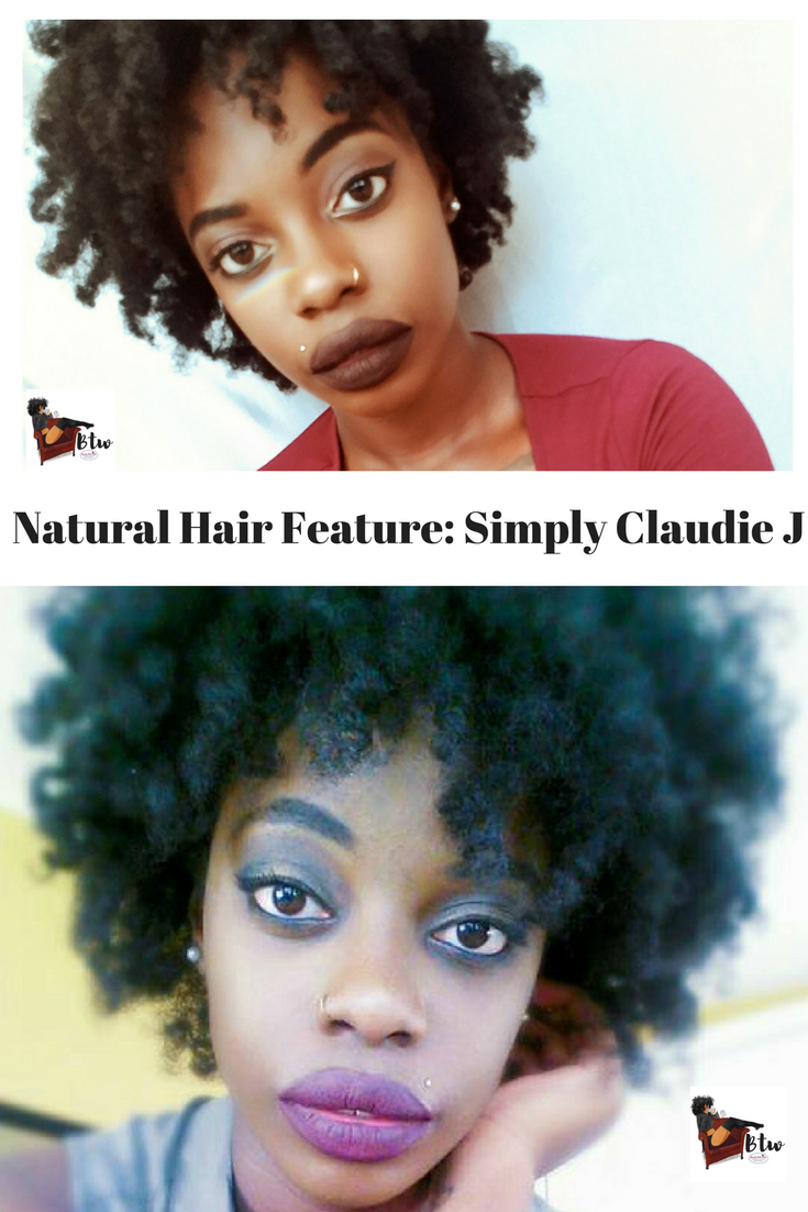 Natural Hair Feature: Simply Claudie J