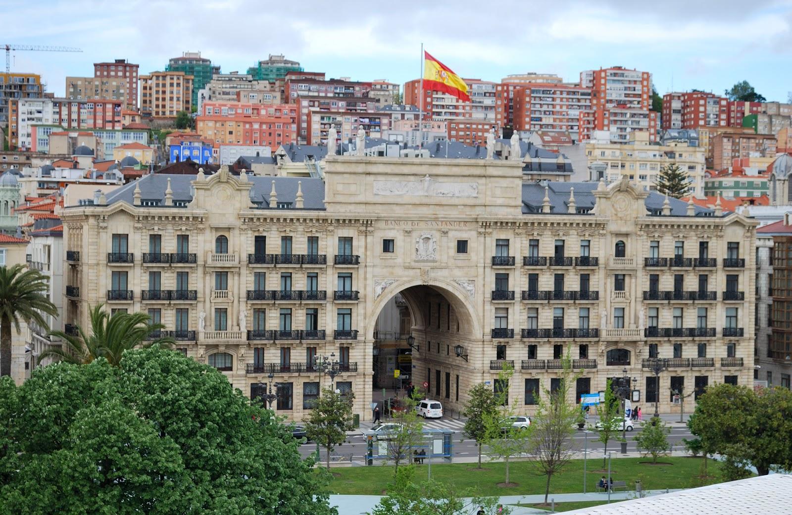 banco santander vistas views centro botin cantabria