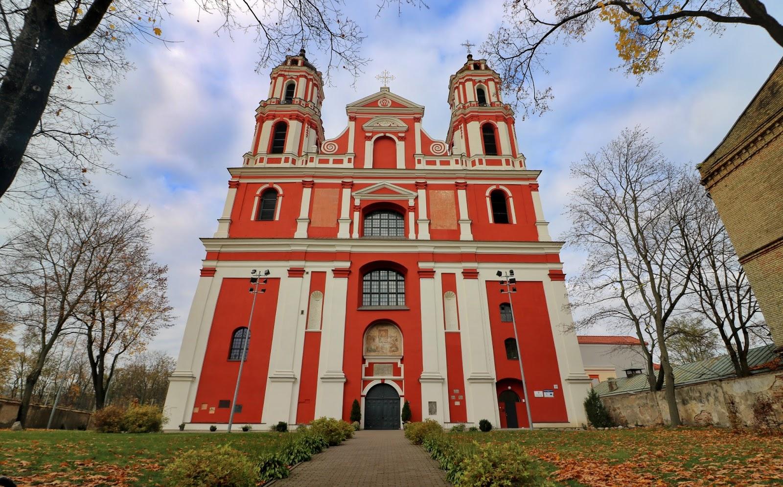 kościoły w wilnie, wilno, litwa