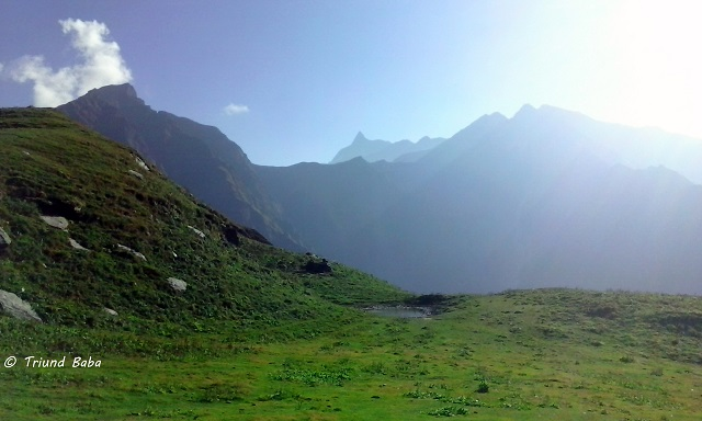 Thamsar Peak from Jalsu Pass