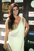 Varalakshmi in Cream Saree Sleeveless Backless Deep Neck Choli at IIFA Utsavam Awards March 2017 056.JPG
