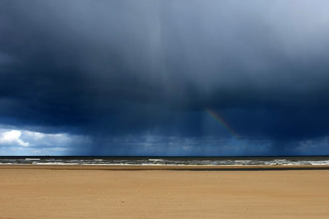 Geburtstag, Meer, Minza will Sommer, Ein Tag am Meer, Ausflug ans Meer, Bett mit Meerblick, Nordseestrand, Nordsee, Niederlande, Holland, Gewitter, Regen am Meer, Regenboden