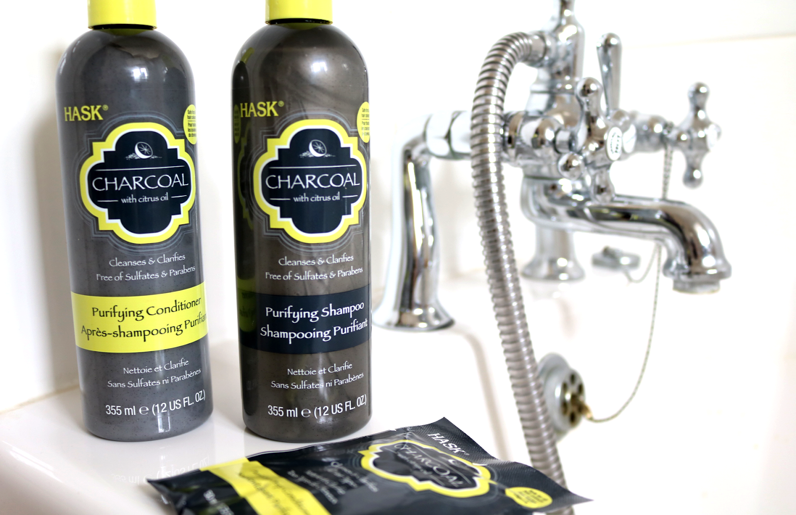HASK Charcoal Purifying Shampoo & Conditoner + Unwined Deep Conditioners review