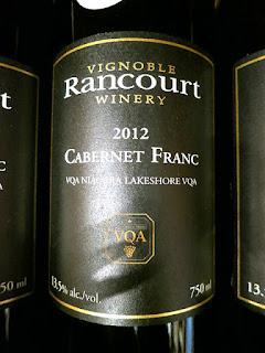 Rancourt Cabernet Franc 2012 (88 pts)