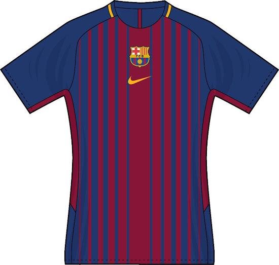 Cómo te gustaría que fuera la camiseta del FC Barcelona 2017 18  880b84758ec