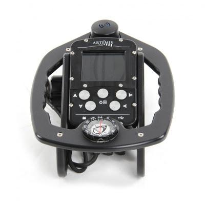 Diver Handheld Sonar & Navigation Console