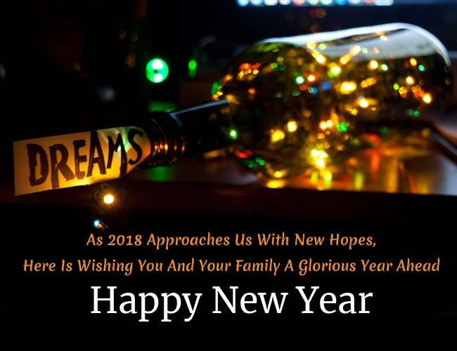 Happy New Year 2018- Wishes, SMS, Images And WhatsApp Messages For Family And Friends