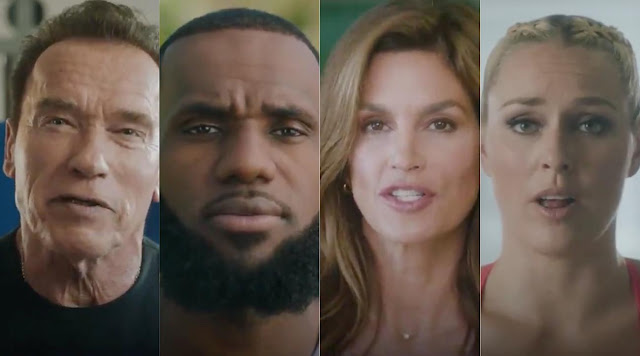 LeBron James, Cindy Crawford, Arnold Schwarzenegger and Lindsey Vonn Feature in New Campaign for Ladder
