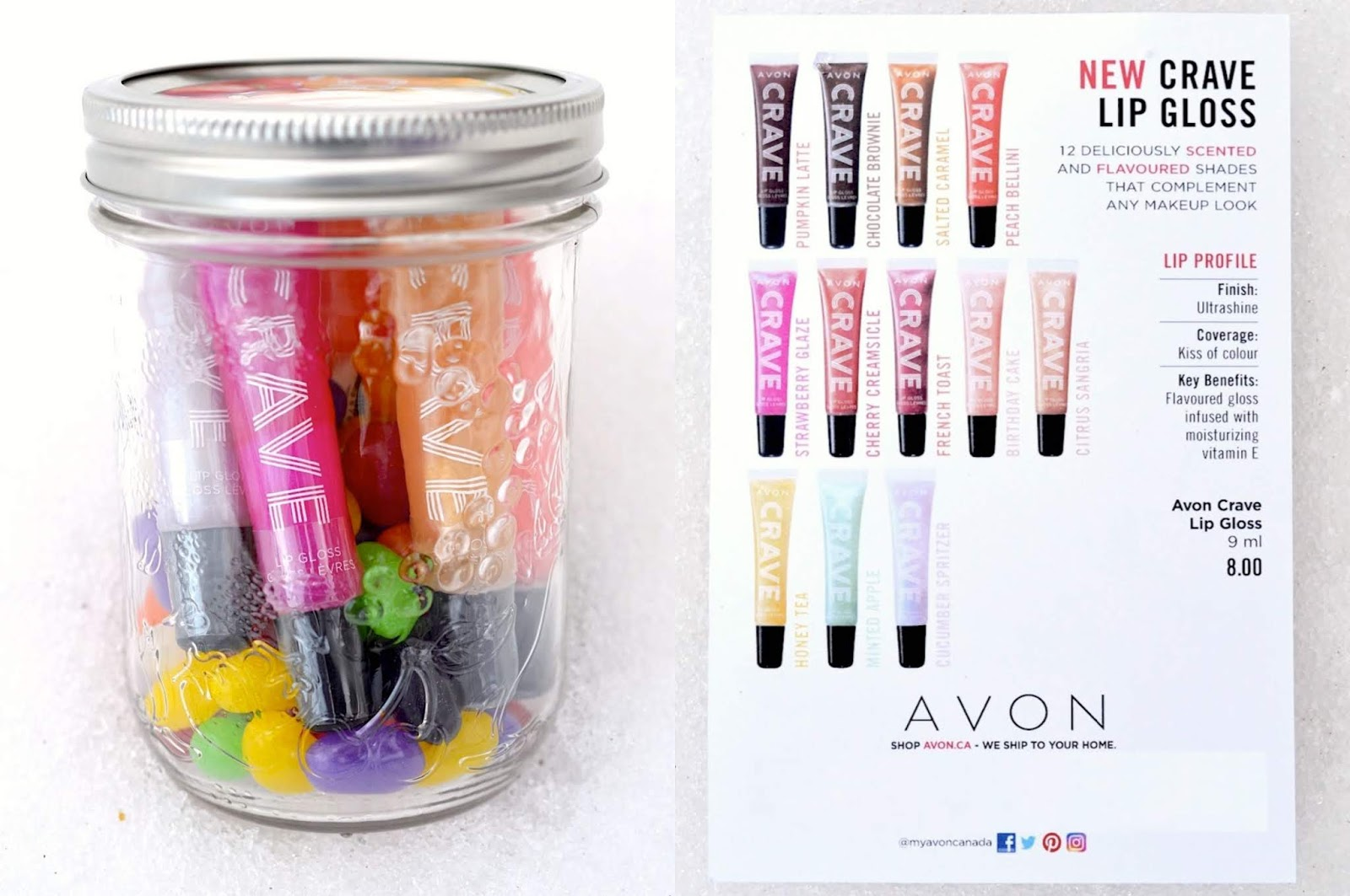 AVON Crave Lip Gloss