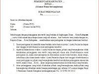 Contoh Surat Teguran atau Peringatan untuk Pegawai