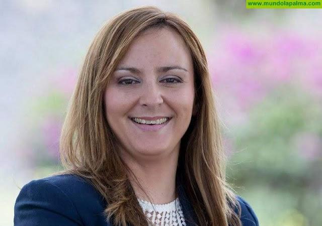 Nieves Lady Barreto visita la nueva base del EIRIF en Fuencaliente