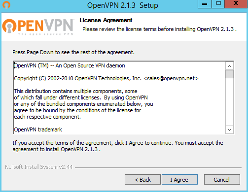 IT Consulting: Install OpenVPN Client-Server Windows