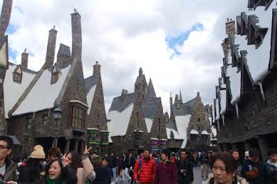 Hogsmeade in Wizarding World of Harry Potter in USJ