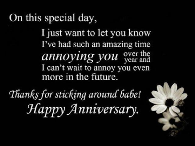 Wedding Anniversary Message