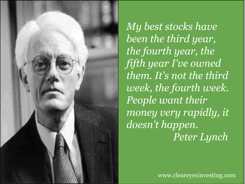 Quotes Peter Lynch Tentang Saham