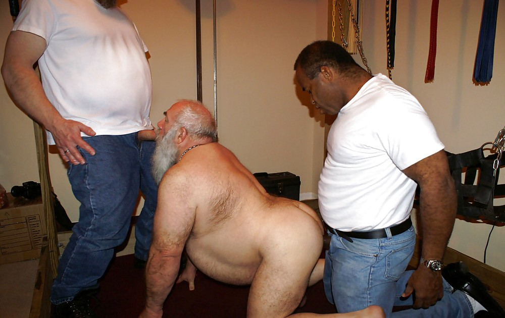 Mature black men daddies naked and gay sex
