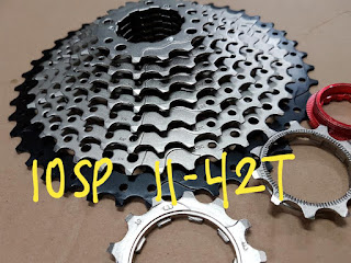 Sprocket 10 Speed 11-42T made in taiwan