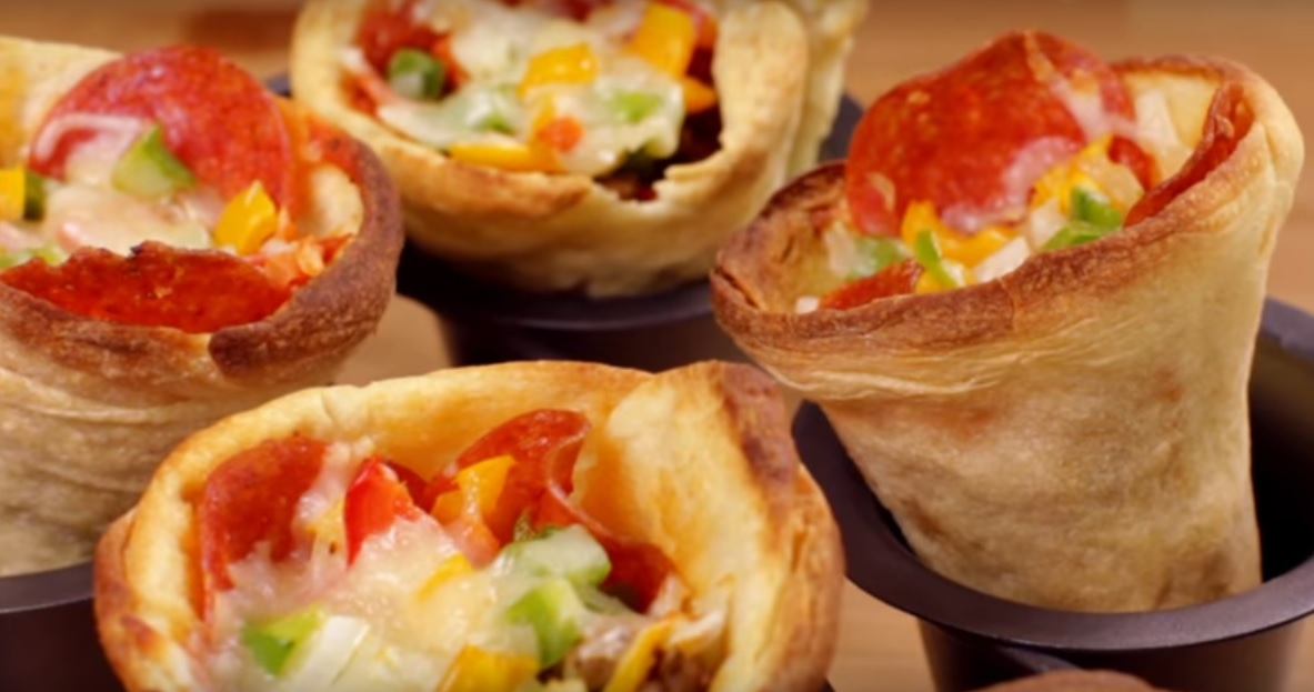 Recipe Video – Make Delicious Pizza Cone at Home