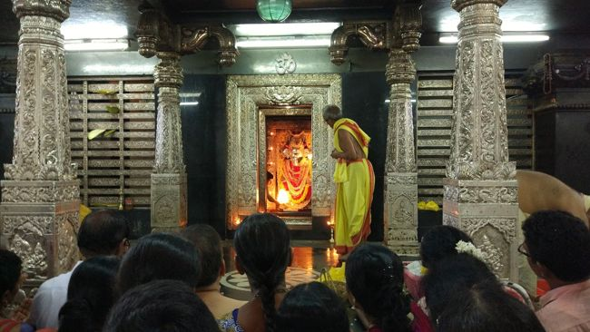 Anegudde Vinayaka Temple Grabhagriha