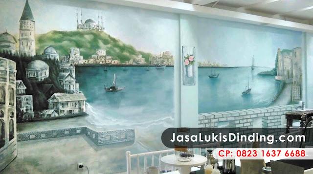 Lukisan Tembok 3 Dimensi, Lukisan Dinding 3 Dimensi, Lukis Dinding 3 Dimensi, Lukisan Dinding Kamar 3 Dimensi, Lukisan 3 Dimensi Di Tembok