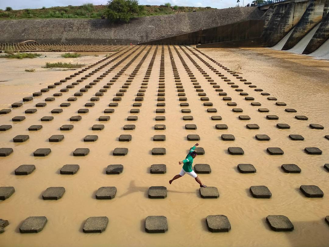 Dam/Bendungan Colo Pengkol, Nguter, Sukoharjo