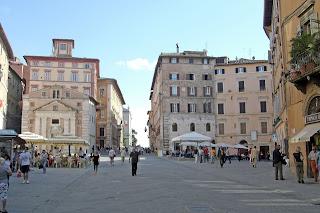 The Piazza della Repubblica in Perugia