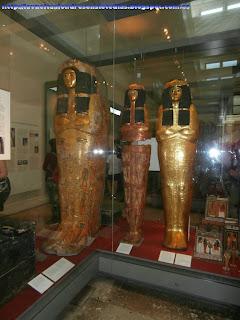 Sarcófagos egipcios en el British Museum