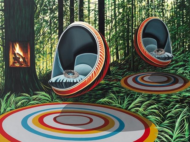 Los Metafóricos y Vibrantes Paisajes de © Nicole Gordon | pintura | nuncalosabre