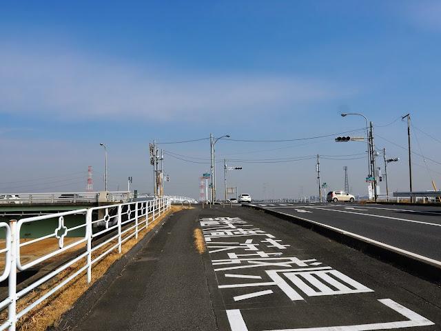 利根川  常総大橋