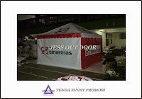 tempat, pembuat, penjual, produksi tenda promosi piramid