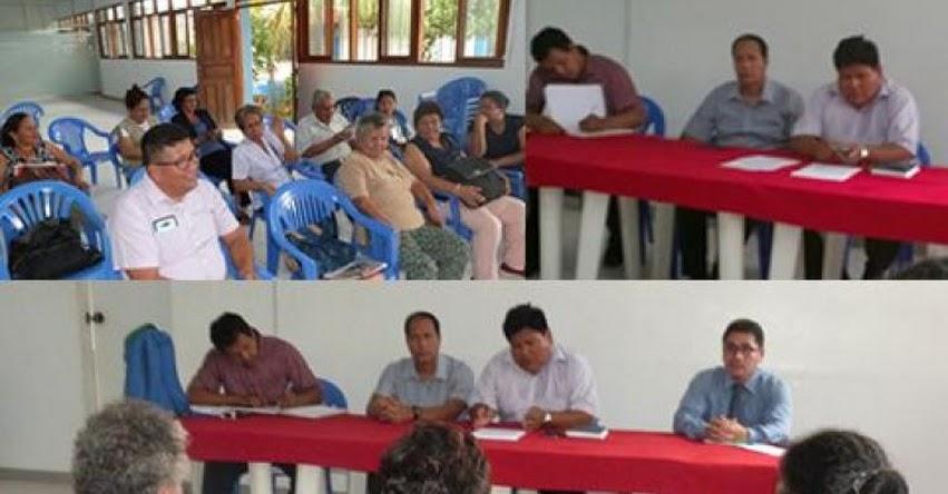 DRE Madre de Dios convocó a reunión a miembros del Consejo Participativo Regional de Educación - COPARE